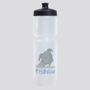 Real Girls Rescue Pitbulls Sports Bottle