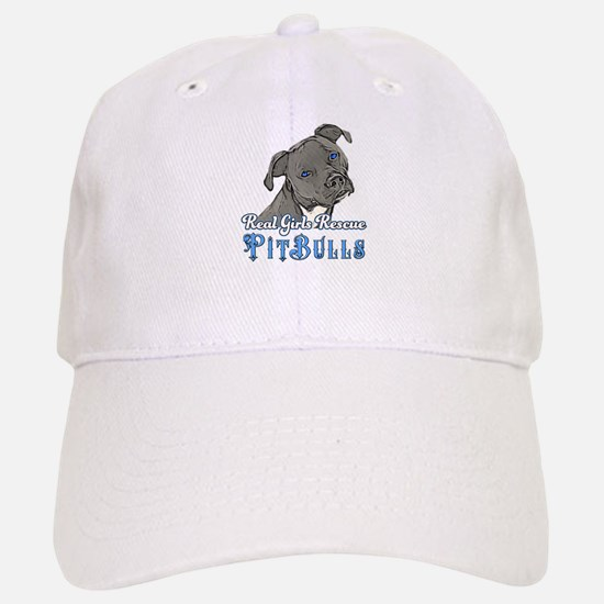 Real Girls Rescue Pitbulls Baseball Baseball Baseball Cap