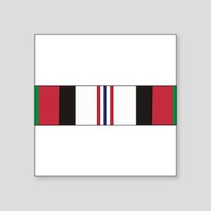 2-Afghan Campaign Ribbon HUGE Sticker