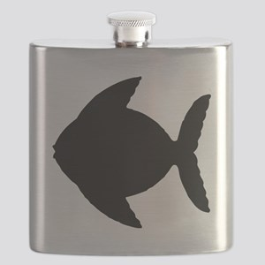 Fish Silhouette Flask