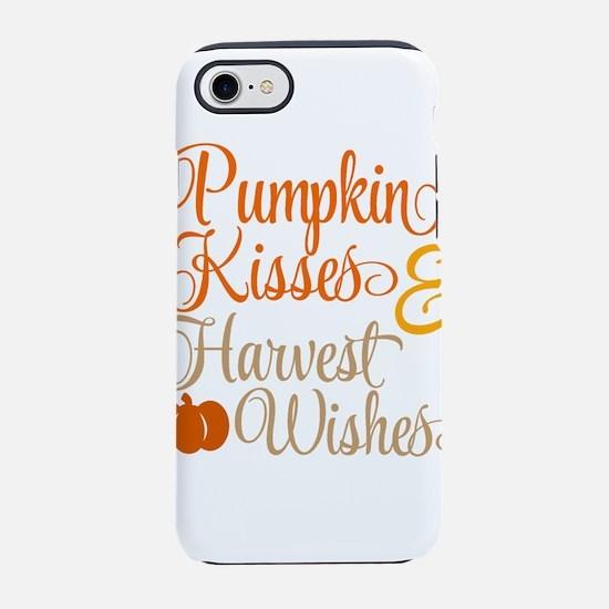 PUMPKIN KISSES iPhone 7 Tough Case