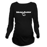 Belay Bunny Long Sleeve Maternity T-Shirt