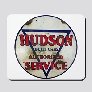 Hudson Service Sign Mousepad