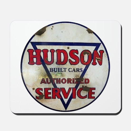 Hudson Service Sign Mousepad
