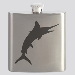 Marlin Silhouette Flask