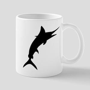 Marlin Silhouette Mugs