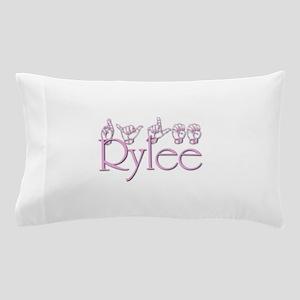 Rylee in ASL Pillow Case