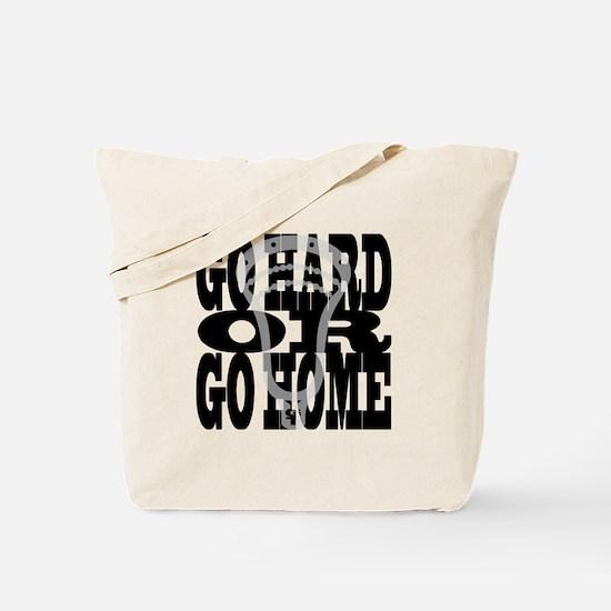 Lacrosse GoHardOrGoHome Tote Bag
