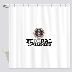 FERAL GOVERNMENT Shower Curtain
