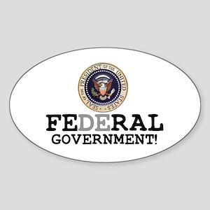 FERAL GOVERNMENT Sticker