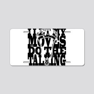 Lacrosse My Moves Aluminum License Plate
