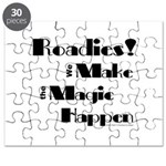 Roadies Make the Magic Happen for light products P