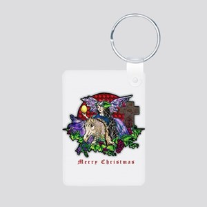Christmas Fantasy Art Keychains