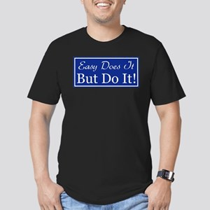 Just Do It Men's Fitted T-Shirt (dark)