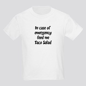 Feed me Taco Salad Kids Light T-Shirt