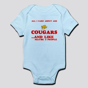 All I care about are Cougars Body Suit