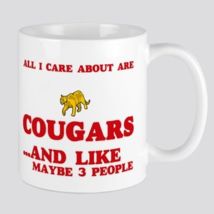 All I care about are Cougars Mugs