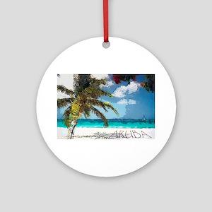 Aruba6 Ornament (Round)