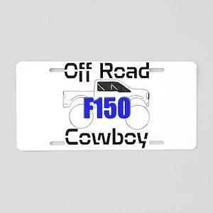 Off Road Cowboy Aluminum License Plate