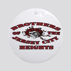 Brothers of the Jersey City Heights Ornament (Roun
