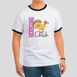Kickboxing Chick 2 Ringer T