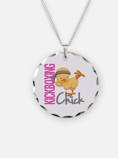 Kickboxing Chick 2 Necklace
