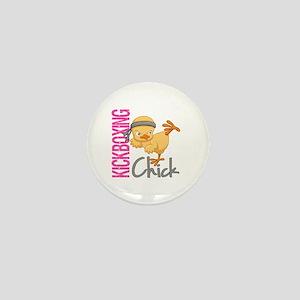 Kickboxing Chick 2 Mini Button