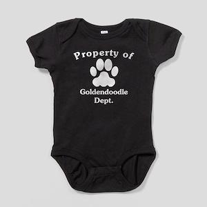 Property Of Goldendoodle Dept Baby Bodysuit