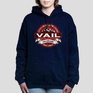 Vail Red Hooded Sweatshirt