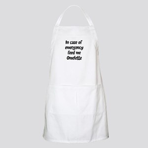 Feed me Omelette BBQ Apron