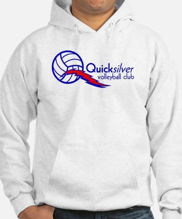 Quicksilver Volleyball Club - Blue And Red Hoodie