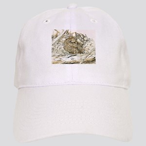 Woodland Fawn Art Baseball Cap