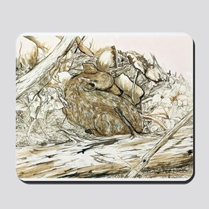 Woodland Fawn Art Mousepad