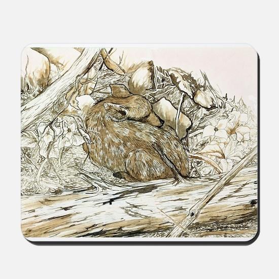 Woodland Fawn Art Mousepad