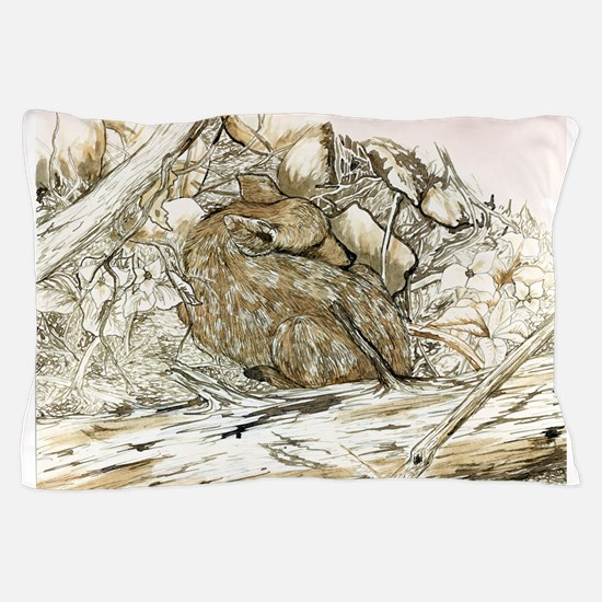 Woodland Fawn Art Pillow Case