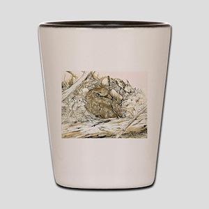 Woodland Fawn Art Shot Glass