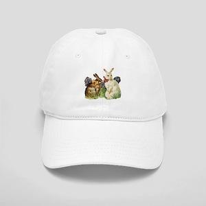 Vintage Easter Bunny Rabbits Cap