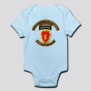 Army - 25th ID w Cbt Vet - Afghan Infant Bodysuit
