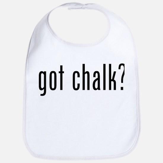 Got Chalk? Bib