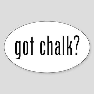 Got Chalk? Sticker