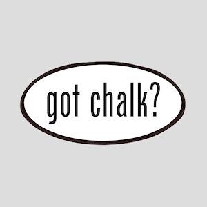 Got Chalk? Patches