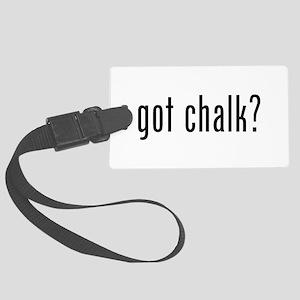 Got Chalk? Luggage Tag