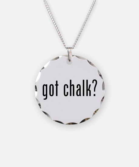 Got Chalk? Necklace
