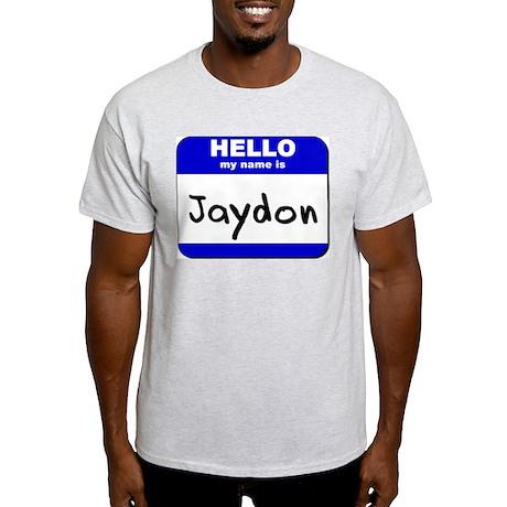 hello my name is jaydon Light T-Shirt