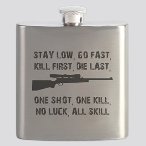 No Luck All Skill Flask