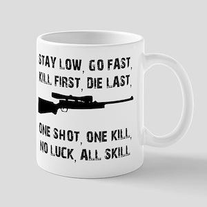 No Luck All Skill Mugs