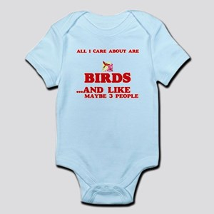 All I care about are Birds Body Suit