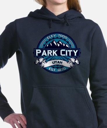 Park City Color Logo Ice.png Hooded Sweatshirt