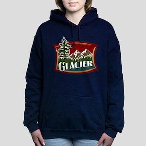 Glacier Mountains Hooded Sweatshirt