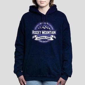Rocky Mountain NP Midnight Hooded Sweatshirt